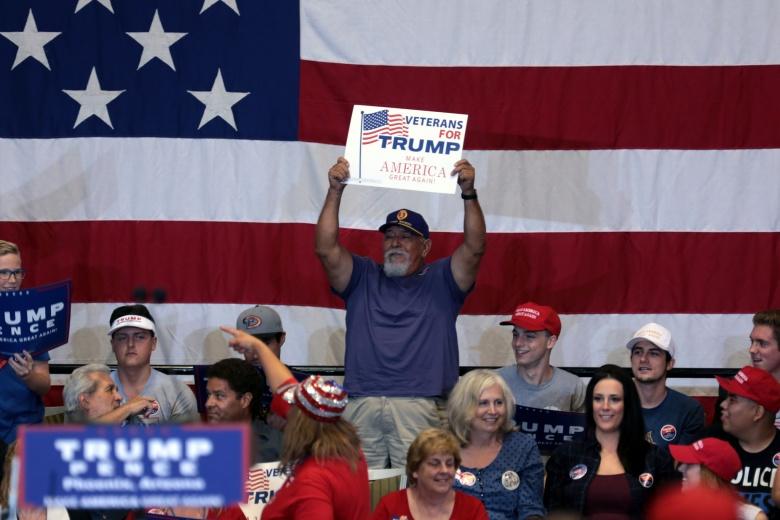 Donald Trump supporters in Phoenix, Arizona. Flickr/Gage Skidmore