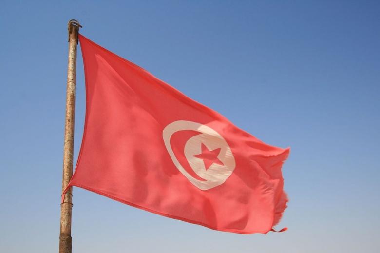 Flag of Tunisia. Flickr/@djou