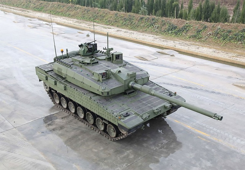 Turkish Altay tank final prototype 2015