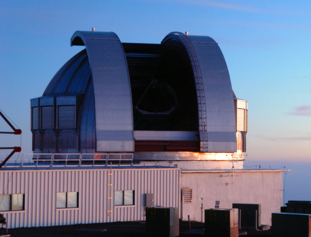 The United Kingdom Infrared Telescope at the Mauna Kea Observatory at sunset. Wikimedia Commons/Creative Commons/Mailseth