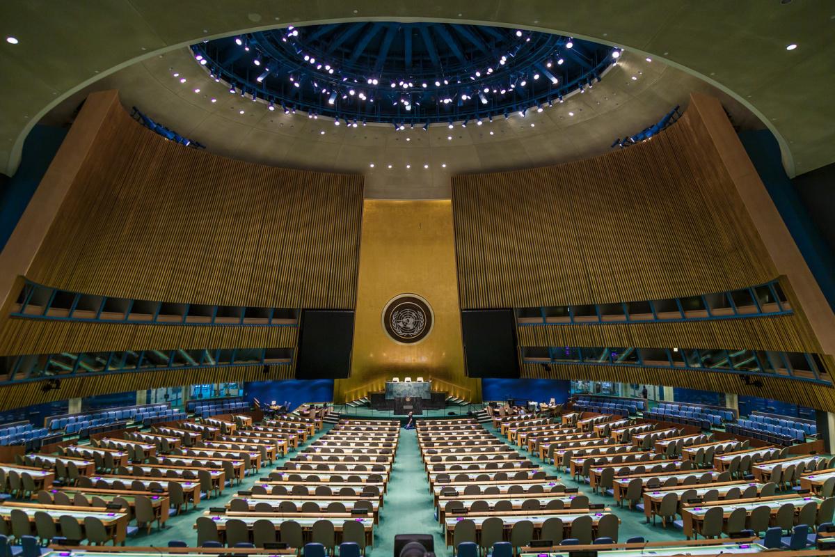 United Nations Secretariat, New York City. Flickr/Creative Commons/John Gillespie