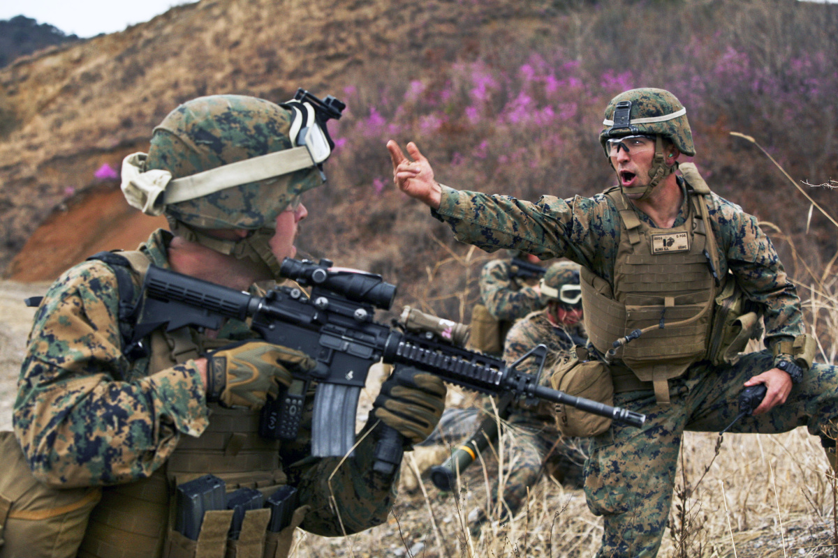 Will U S Marines Fight The North Koreans In Pajamas