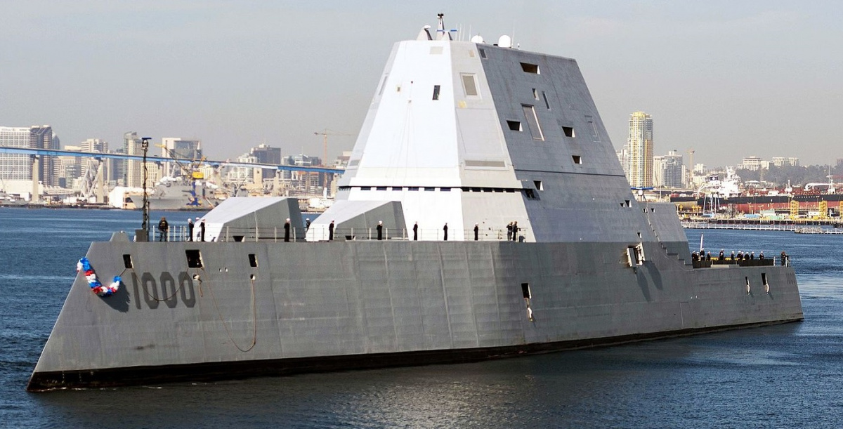 The U.S. Navy's Super Stealth Destroyer Is Almost Ready ...
