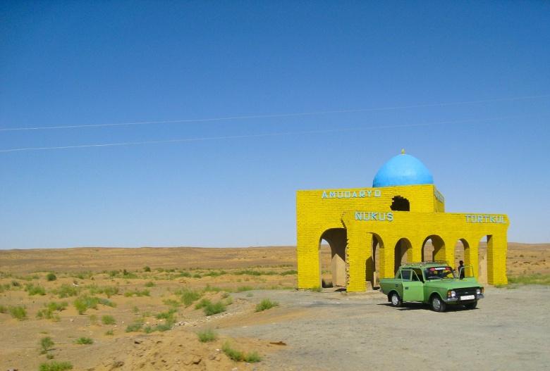 Rest stop in the Kyzylkum Desert in Uzbekistan. Pixabay/Public domain