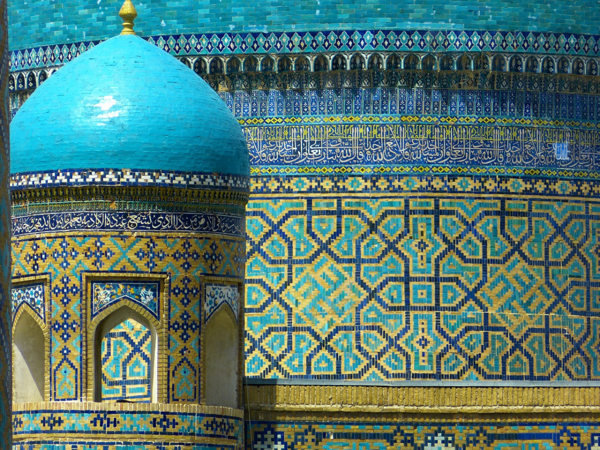 Mosaic dome in Samarkand, Uzbekistan. Pixabay/Public domain