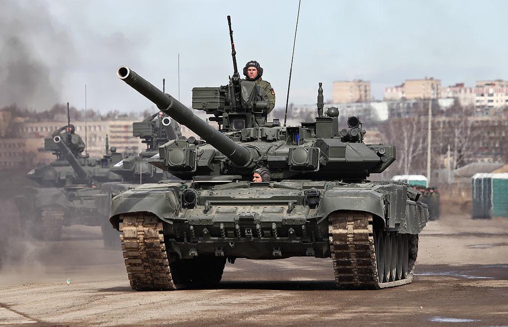 T-90A main battle tank. Wikimedia Commons/Creative Commons/Vitaly V. Kuzmin