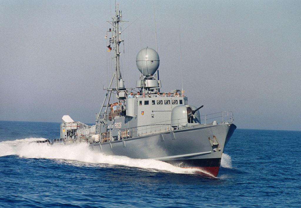 Gepard-class frigate. Wikimedia Commons/Creative Commons/Detmar Modes