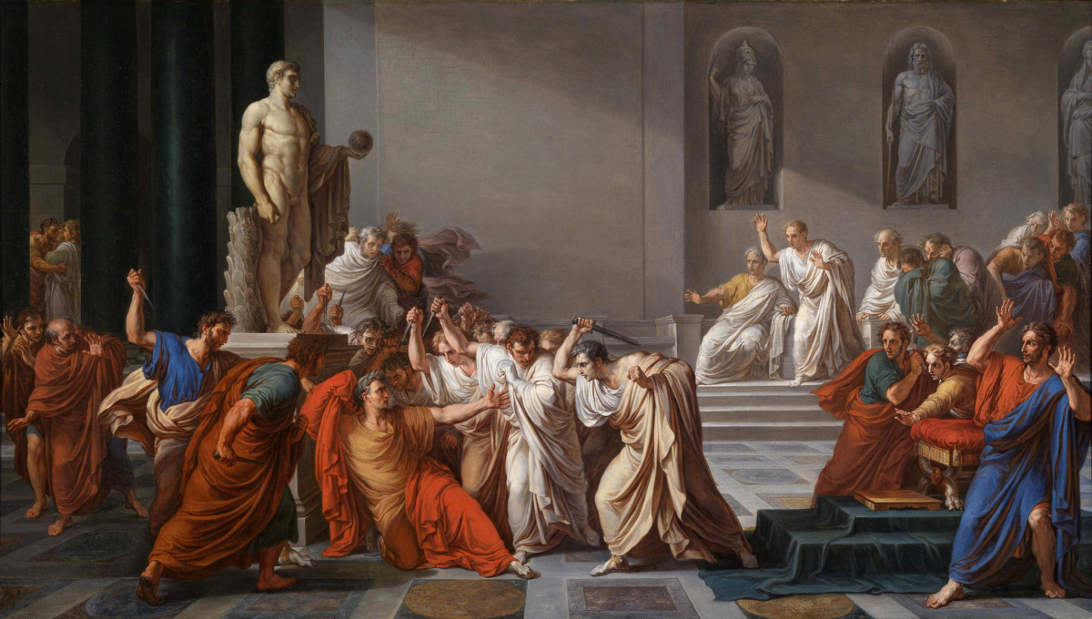 The Assassination of Julius Caesar. Wikimedia Commons