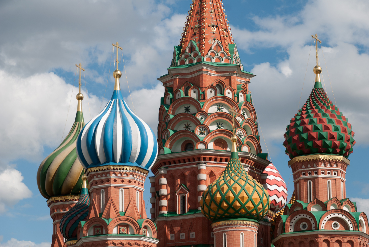 St. Basil's Cathedral in Moscow. Flickr/Creative Commons/@xiquinhosilva