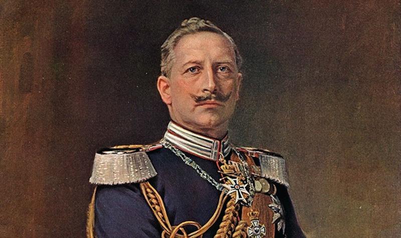 Portrait of Kaiser Wilhelm II before World War I. Wikimedia Commons/Public domain