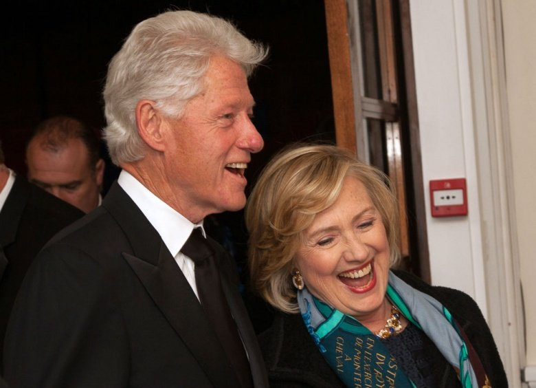 Image: Bill and Hillary Clinton in 2013. Photo via Chatham House, CC BY 2.0.