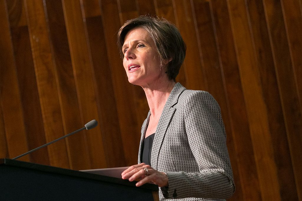 Deputy Attorney General Sally Yates in April 2016. Wikimedia Commons/Public domain