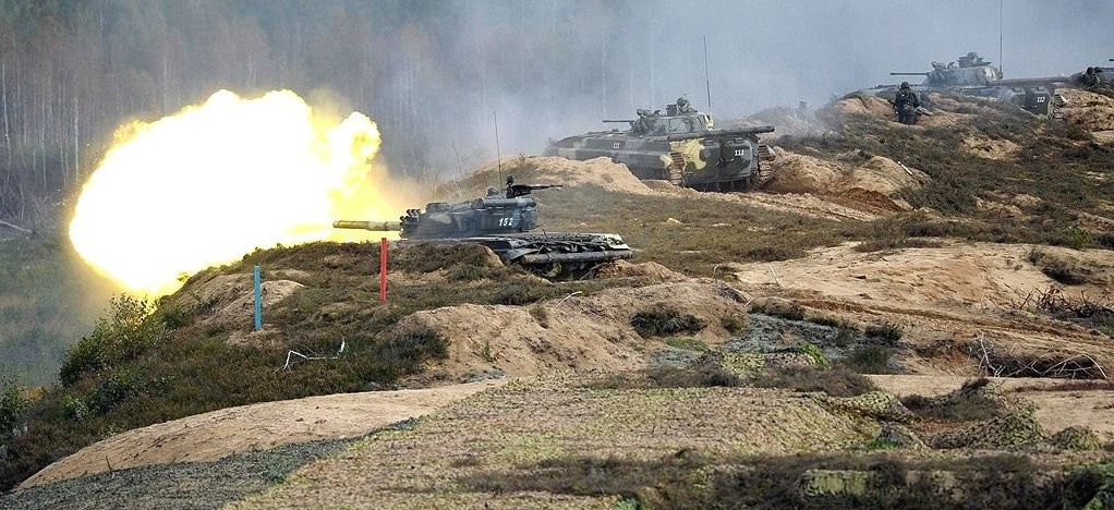 The final stage of the Zapad-2013 Russian-Belarusian strategic military exercises. Kremlin.ru