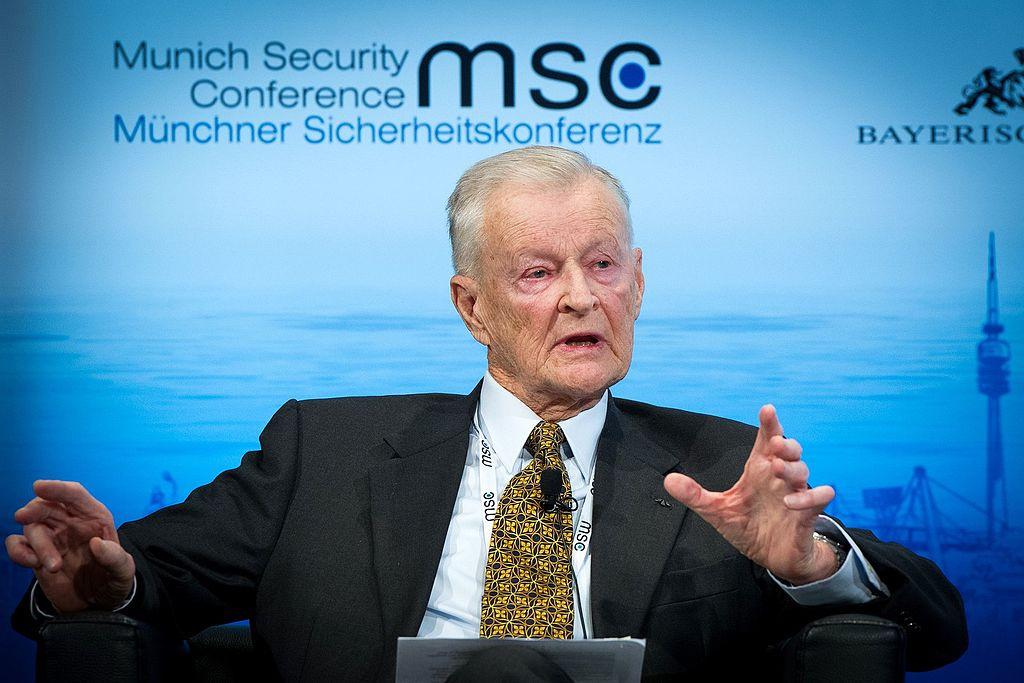 Zbigniew Brzezinski at the Munich Security Conference 2014. Wikimedia Commons / Tobias Kleinschmidt / MSC