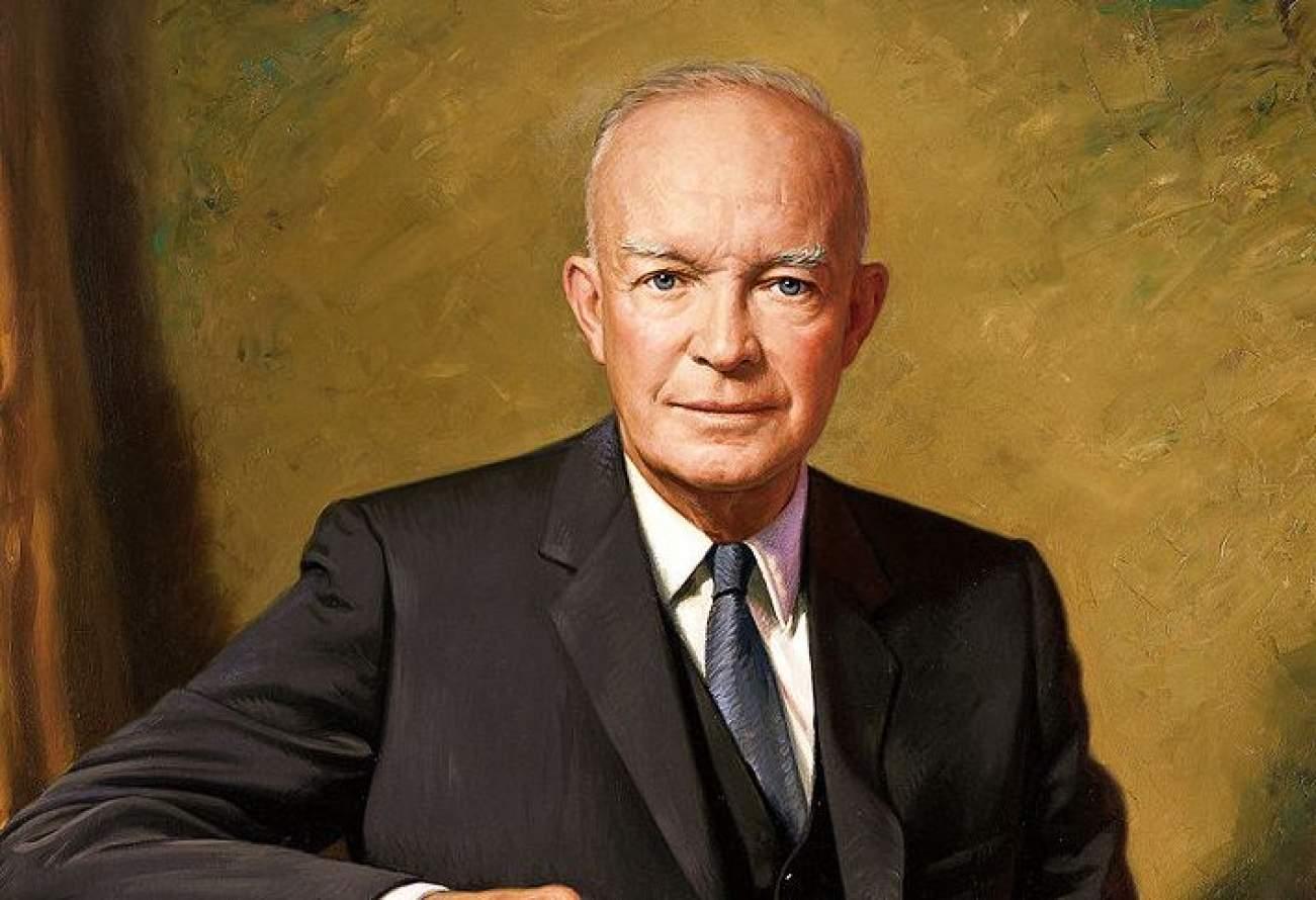 Dwight D. Eisenhower. Wikimedia Commons
