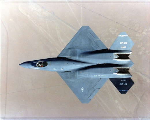The F-23 Stealth Fighter: A Super Weapon America Should Have Built (And Not the F-22 Raptor)?
