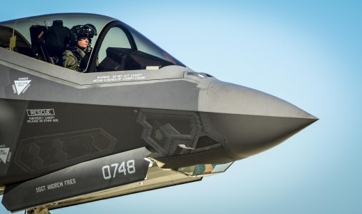 A Big Upgrade to the F-22 & F-35 Stealth Fighters Is in the Works (As in Artificial Intelligence)