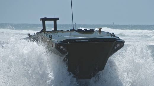 The U.S. Marines Just Got Their Hands on the New Amphibious Combat Vehicle
