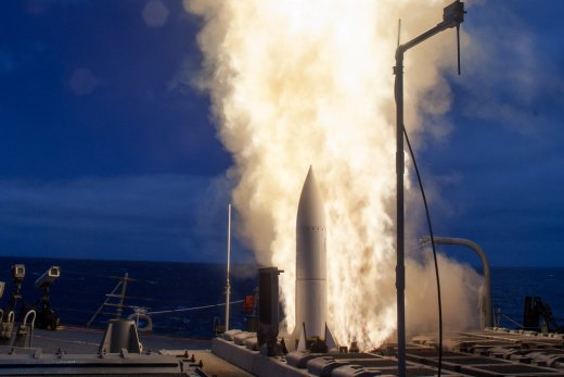 The U.S. Navy Just Flight Tested a Missile That Might Be Able to Kill Just About Anything