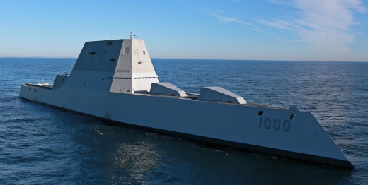 The U.S. Navy's New Super Stealth Destroyer Is Getting Ready for Combat