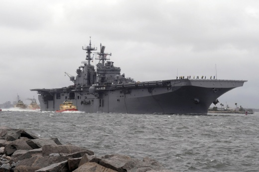 The U.S. Navy in an Irregular Baltic Conflict: Seapower's Role in Countering Russian Hybrid Warfare
