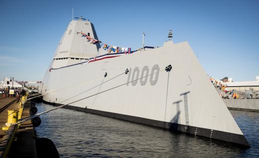 Naval Deathmatch: America's Zumwalt Stealth Destroyer vs. China's New Type 55 Warship
