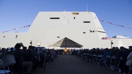 The One Important Fact About the U.S. Navy's New Stealth Destroyer Everyone Forgets