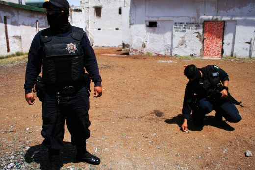 Mexico's Drug Violence Spikes Again