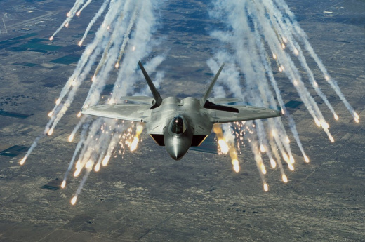 F-22 Raptor and F-35 Joint Strike Fighter Joining Massive Wargame Next Month