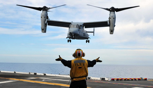 """The U.S. Military's V-22 Osprey: """"Everything Is An Option"""""""