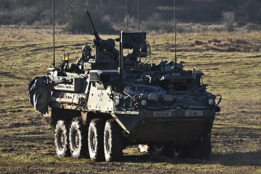 U.S. Army Adds Some Big Guns to Stryker Infantry Vehicle to Counter Russia