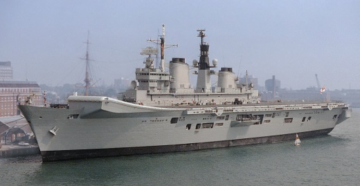 The Royal Navy Only Has 26 Combat Vessels (And Is Now Killing-Off Its Only Aircraft Carrier)