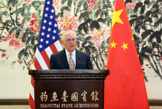 Rex Tillerson is Right: U.S.-China Relations Need Not Be Zero-Sum