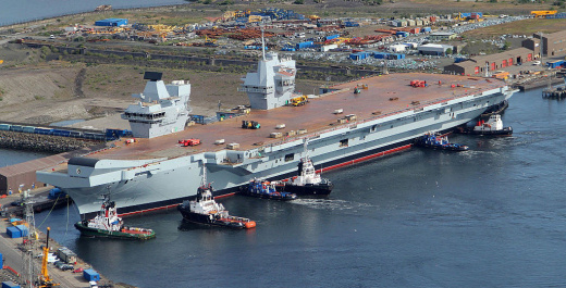 Britain Admits that Russian Missiles Can Blow Its New Aircraft Carriers Out of the Water