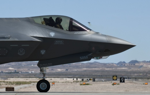 The F-35 Stealth Fighter Has a Super Gun That Can Fire an Insane 3,300 Round Per Minute