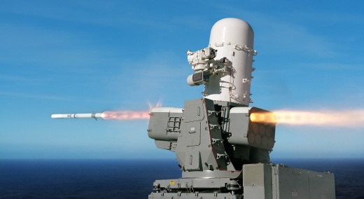 The U.S. Navy's Supersonic SeaRAM Missile System Could be a Game Changer