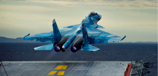 The Royal Navy Just Tailed Russia's Only Aircraft Carrier On Its Way to Syria