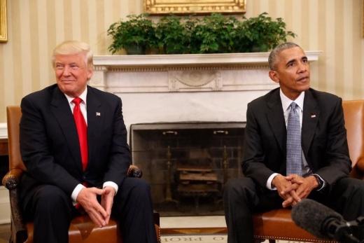 Obama Should Stop Trashing Trump