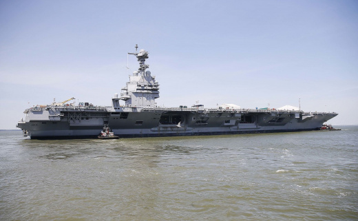 America's Most Powerful Aircraft Carrier Ever Is Close to Joining the U.S. Navy