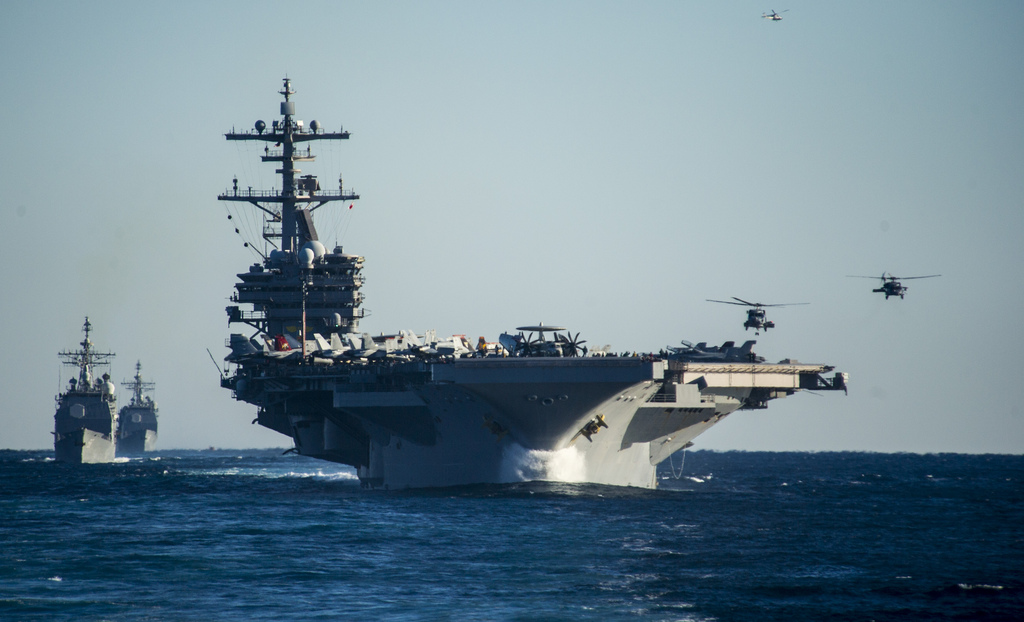 Evolve or Die: The Navy's Aircraft Carriers Could Become As Obsolete as Old Battleships