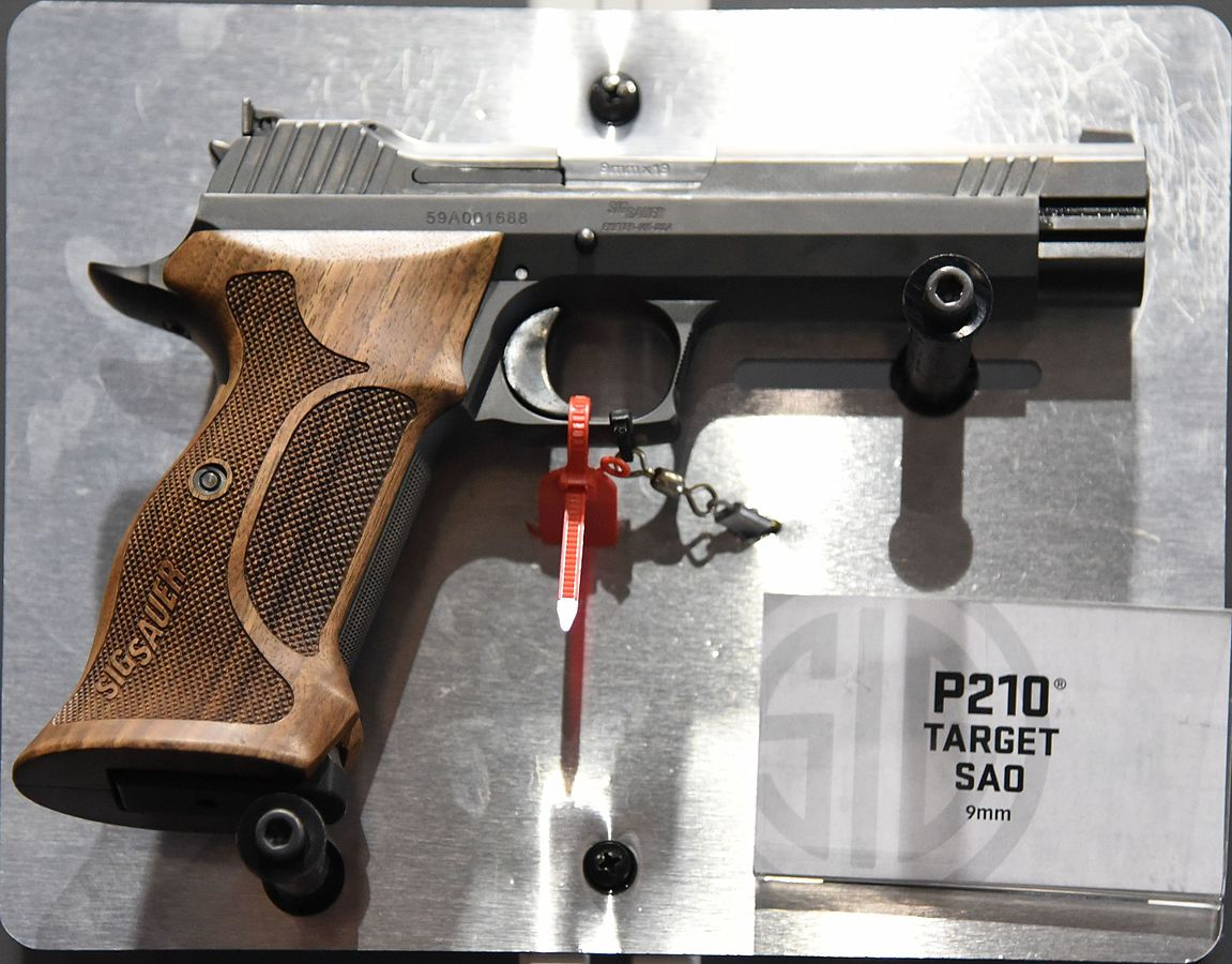 Sig Sauer P210: This Gun Should Demand Your Respect for 1 Reason