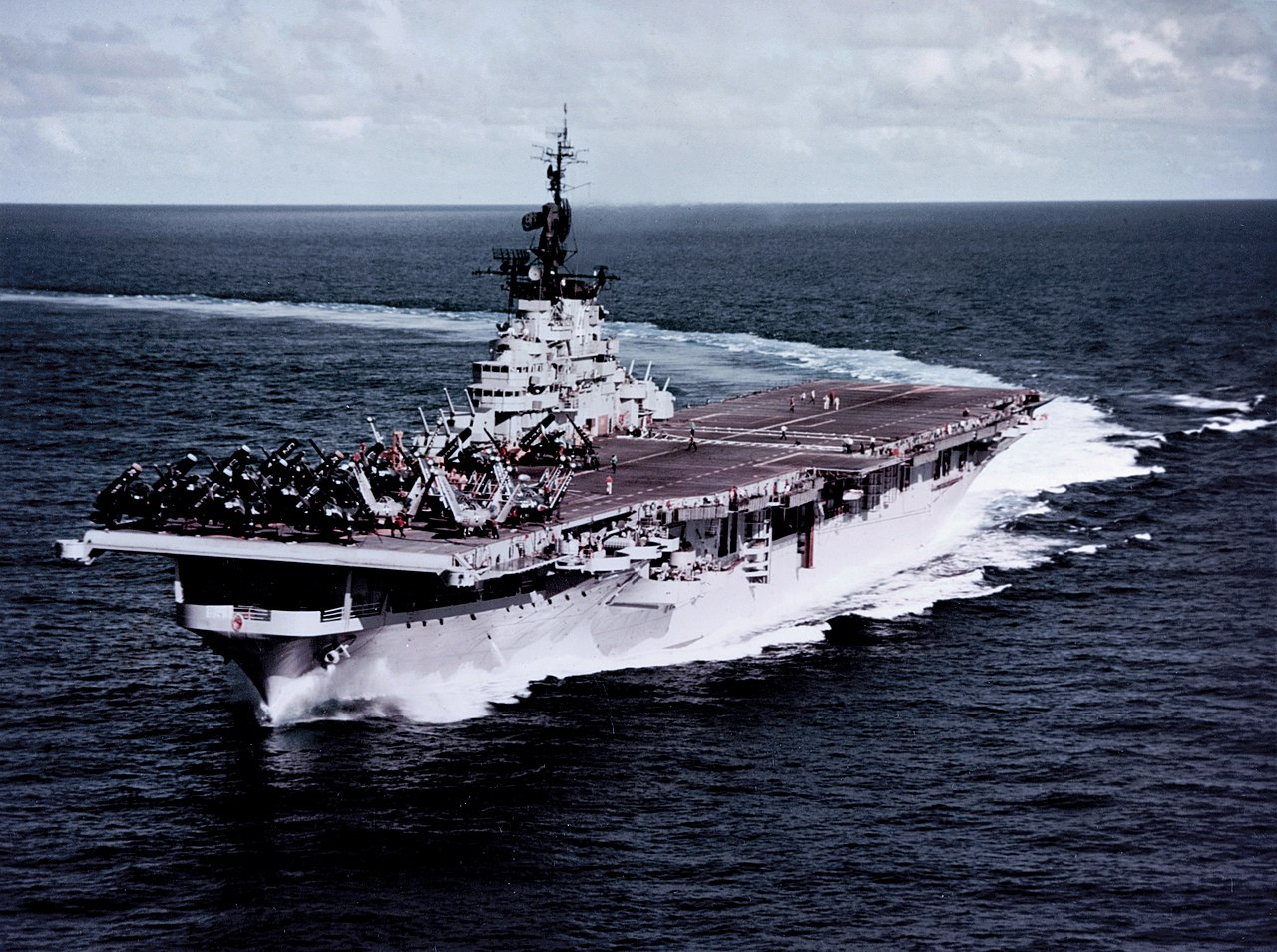 No Equal: This Aircraft Carrier Class Fought in World War II, Korea and the Vietnam War