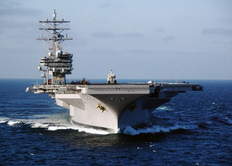 Chief of Naval Operations Richardson: US Aircraft Carriers Can Fight