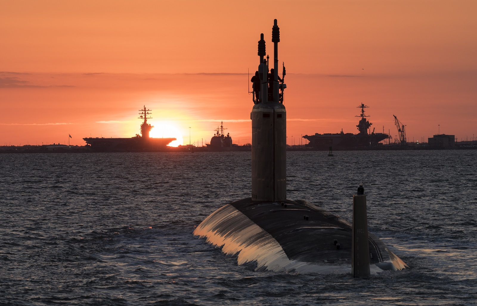 Why There Is Nothing Like This Submarine: Meet the U.S. Navy's Seawolf