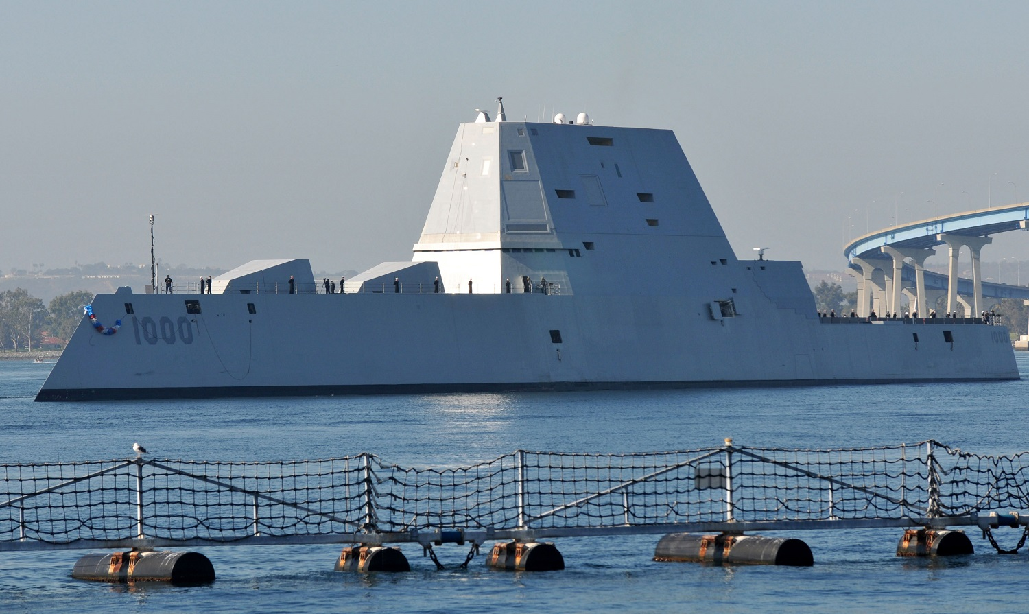 The U.S. Navy's 3 Stealth Destroyers Are Joining an Experimental Drone Squadron
