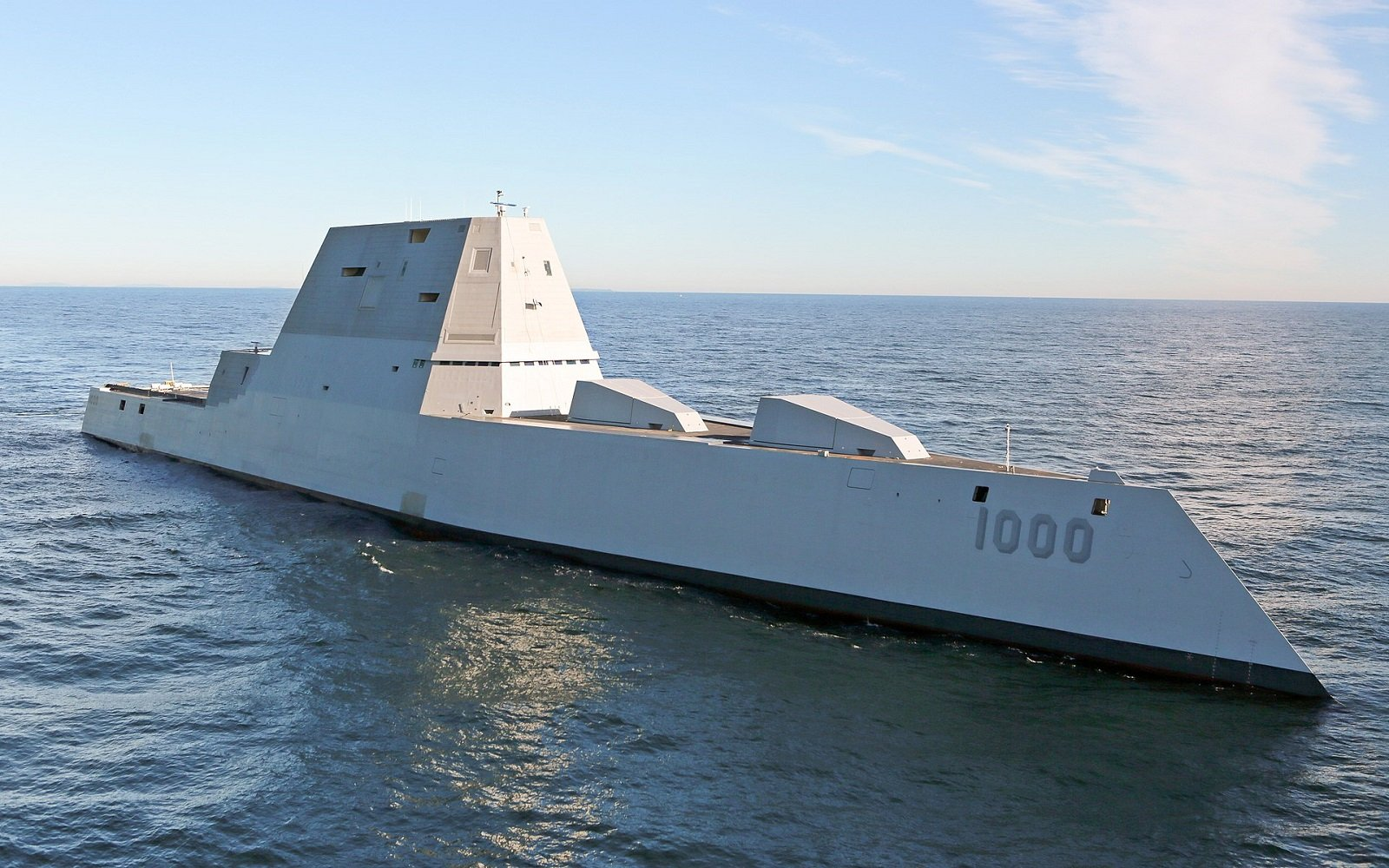 The Navy's Zumwalt-Class 'Stealth' Destroyer Has One Big Problem