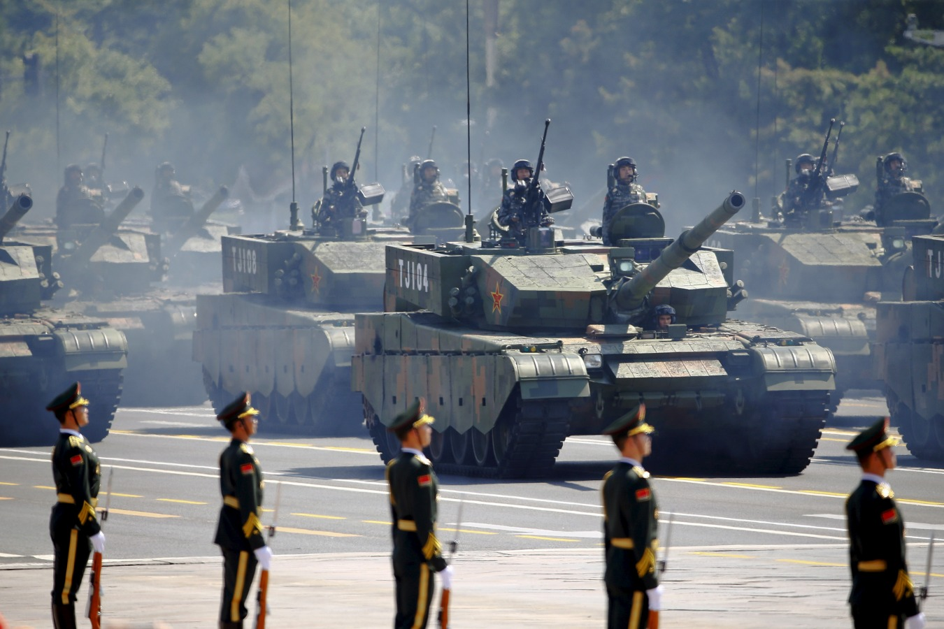 Resultado de imagen para Forget Russia, China Has The Largest Tank Force On Earth