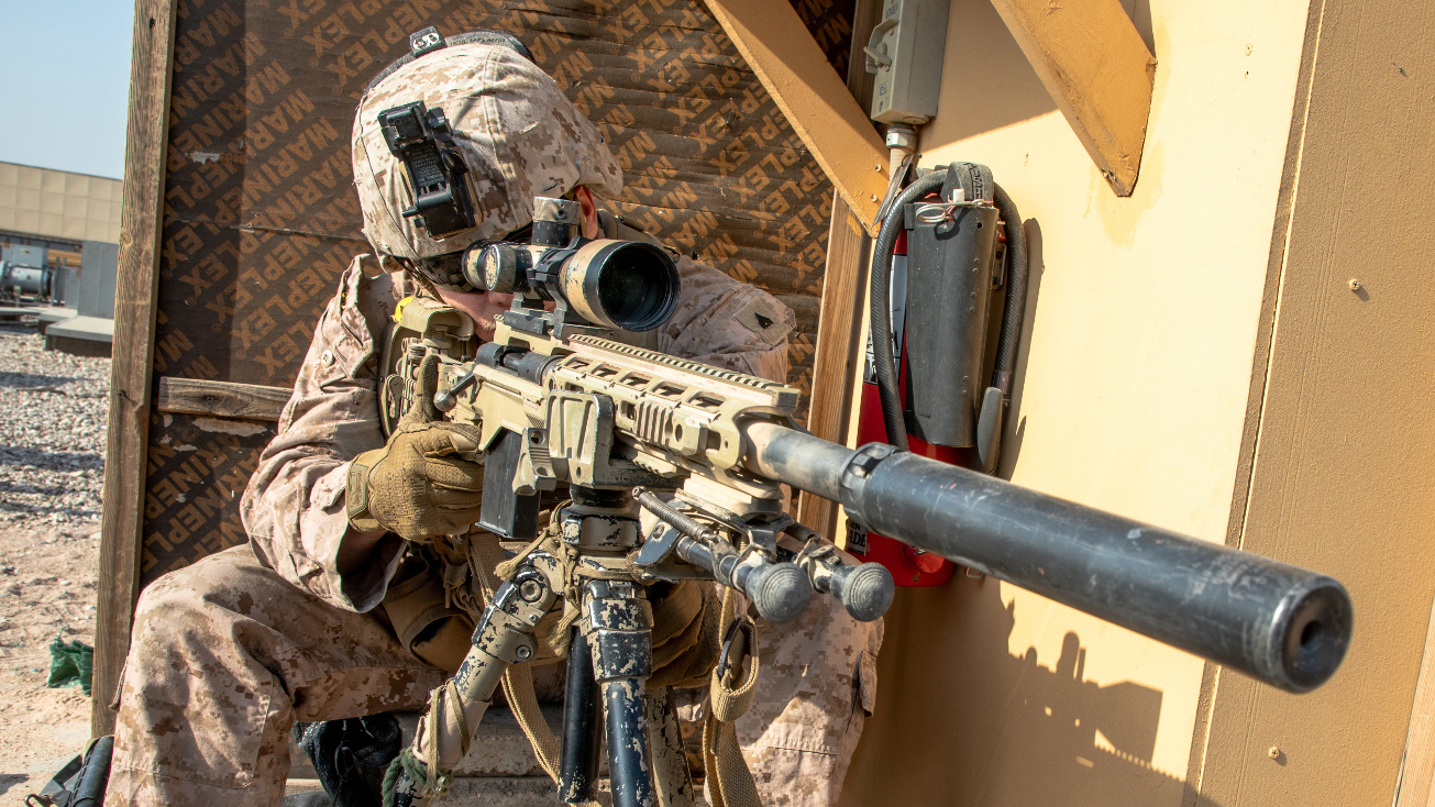 Six Lethal Weapons used by the US Marine Corps