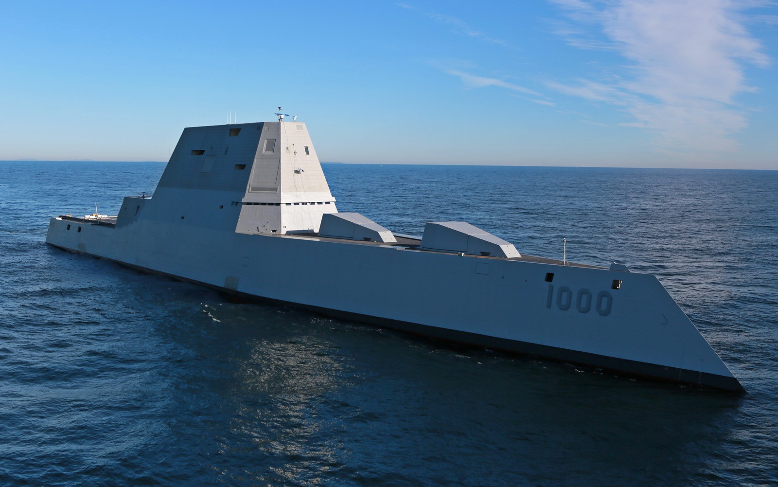 The U.S. Navy Is Activating Robot Squads (with Stealth Destroyers)