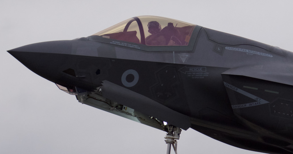 For the First Time Ever, the F-35B Takes-Off at Sea With Full Weapons Load and Drops Live-Bombs